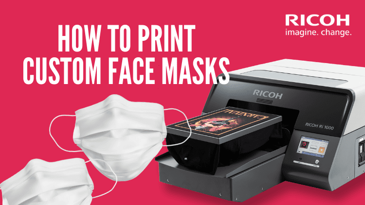 How to Print Custom Face Masks